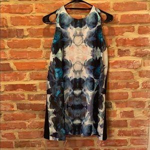 Keepsake Mini Open Back Sheath Dress